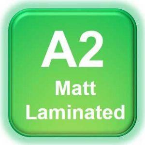 A2 Poster Printing with Matt Laminating | A1 Matt Laminated Printing